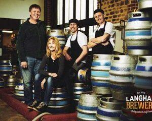 Langham Brewery team photo