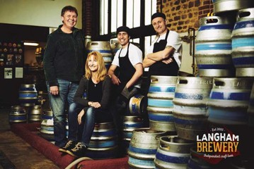 Langham Brewery team photo