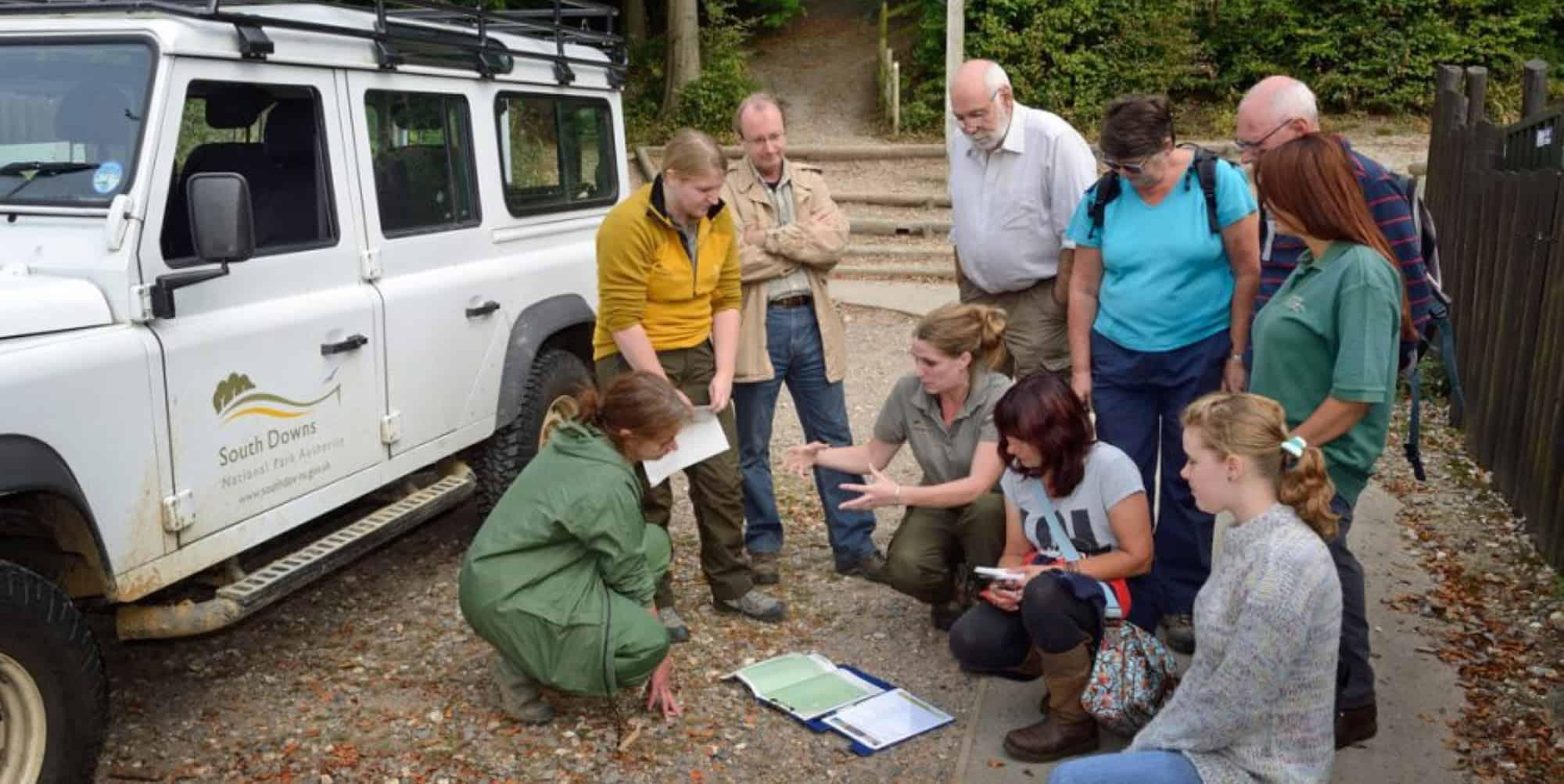 South Downs volunteer rangers
